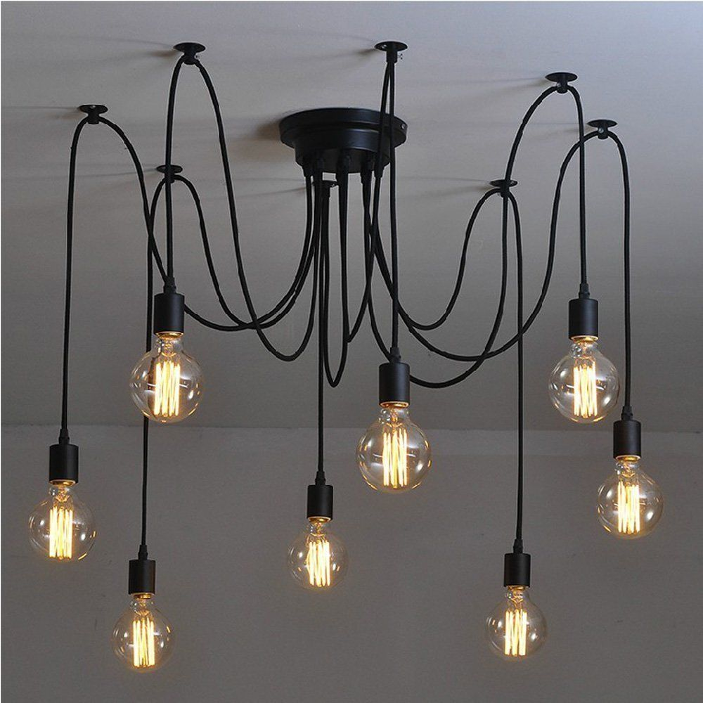Luminaire Suspension Vintage Lightess Luminaire Suspension 8pcs Lustre Vintage Lampe Style