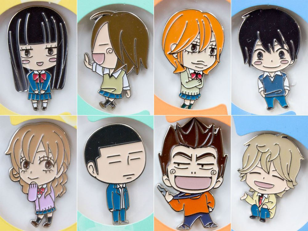 RARE!! Complete set of Kimi ni Todoke Pins Limited
