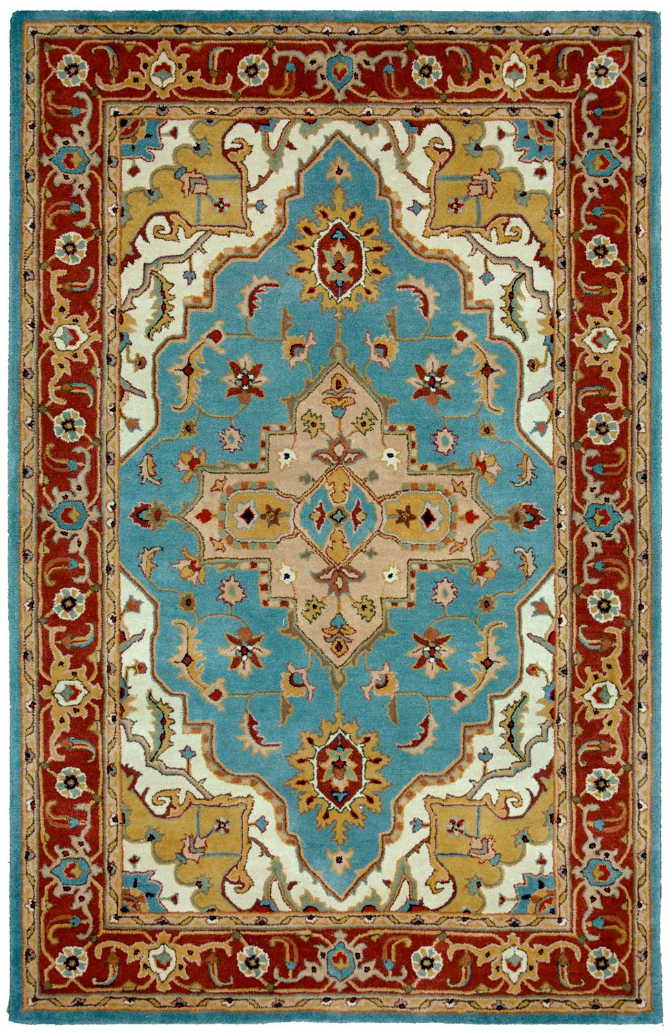 ~ Tempest Collection, Liberty Oriental Rugs, India-inspired rug, neutral and jewel tones, I need this for my bedroom.