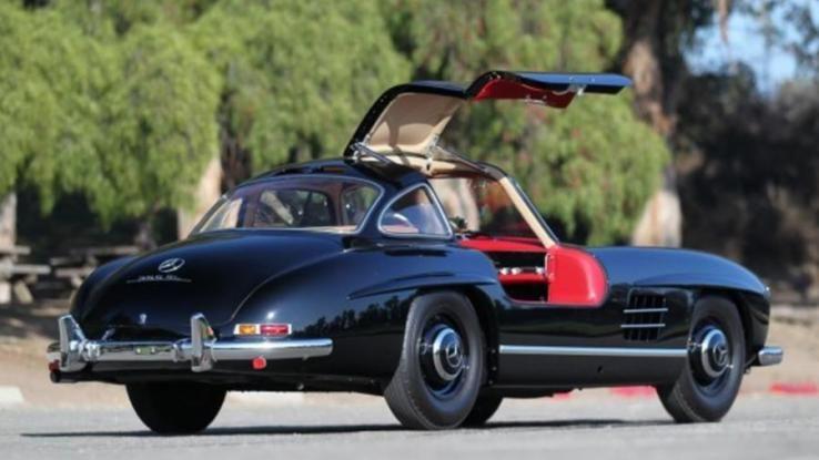 Restored Concours Arizona Auction Price 1956 Mercedes Benz