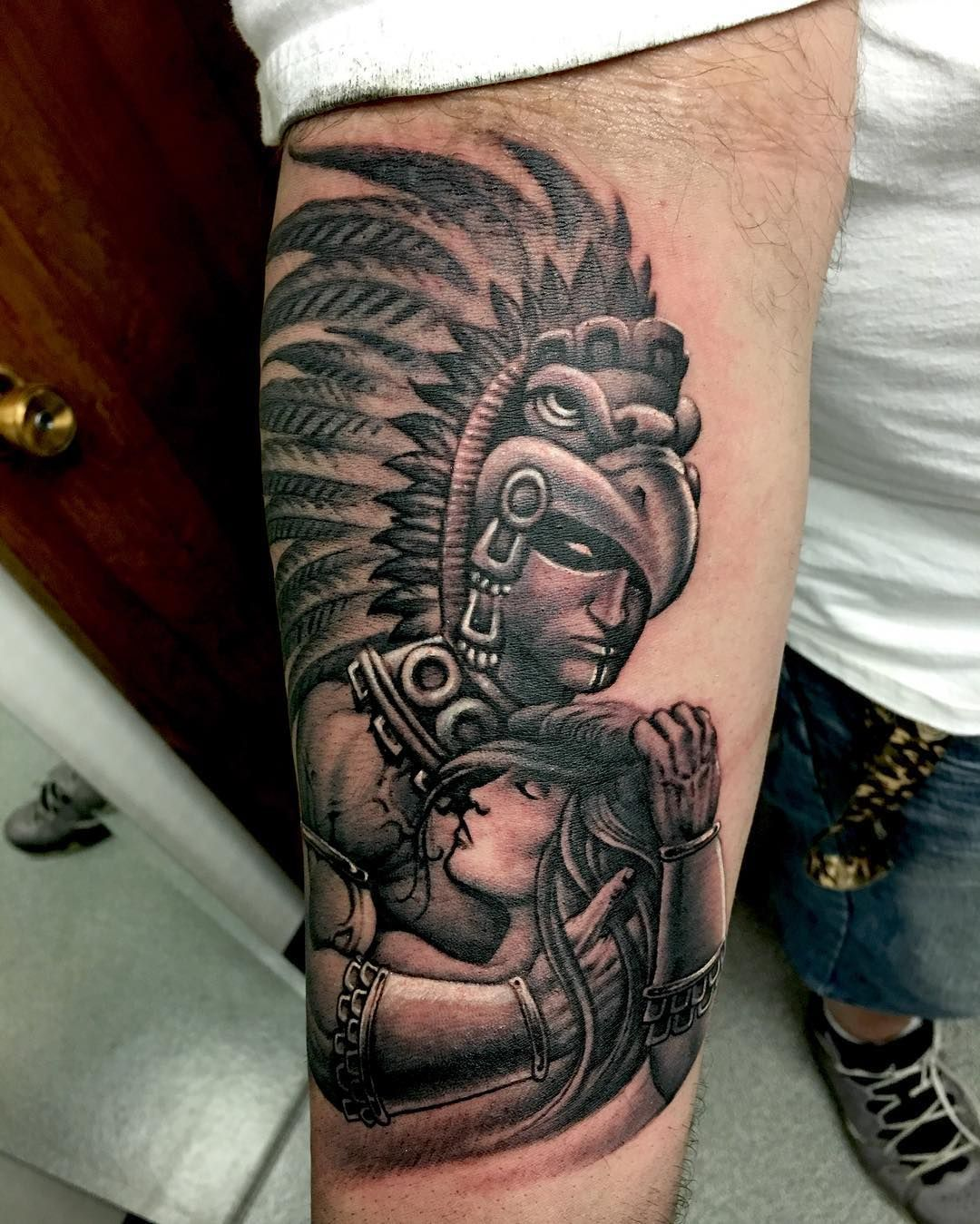 Aztec tattoo designs legacy of rich colors and shapes ...