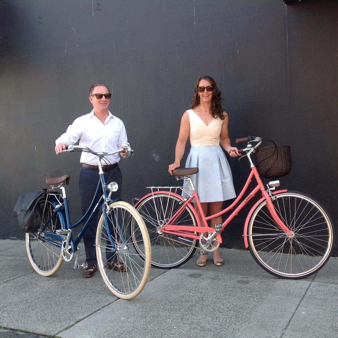 Off To Dinner Instyle Congrats On Your New Linusbike Dutchi S