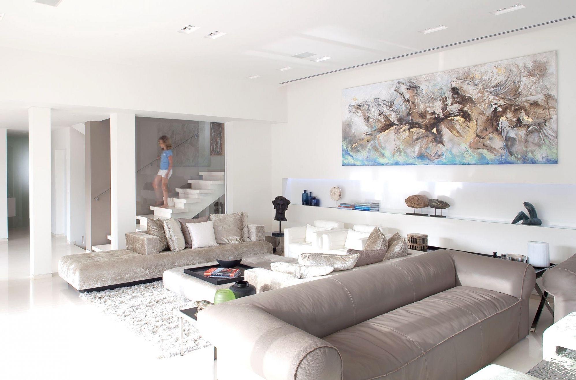 Fesselnd Erstaunlich Wohnzimmer Ideen Weiß