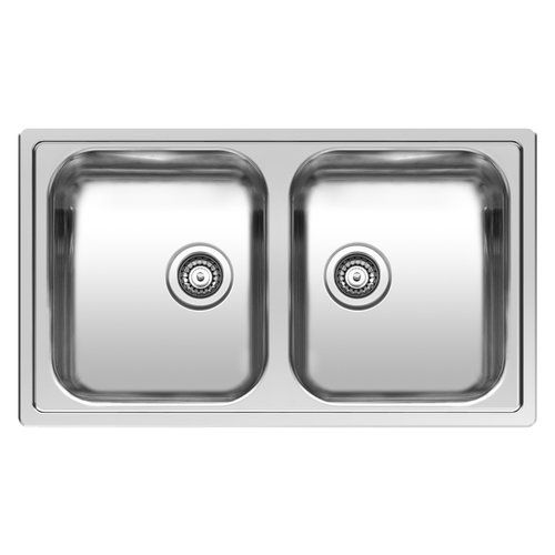 1 1 2 Bowl Inset Kitchen Sink Double Bowl Kitchen Sink Sink