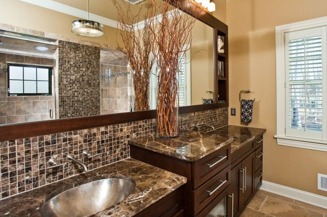 Tropical Bathroom Ideas | ... Bath Ideas Magazine Features Witt Built U201c Tropical