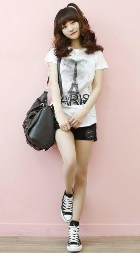 81099e964 ropa coreana casual juvenil femenina - Buscar con Google | Fashion ...