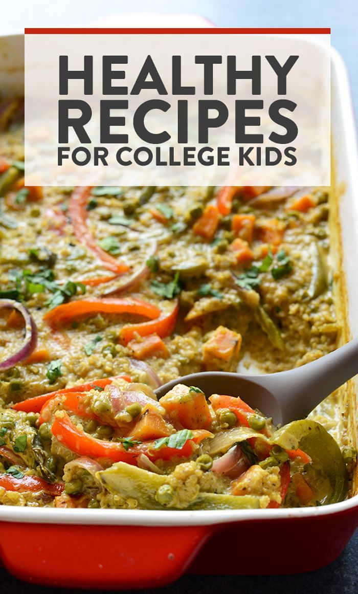 Best healthy recipes for college kids-fit foodie finds images