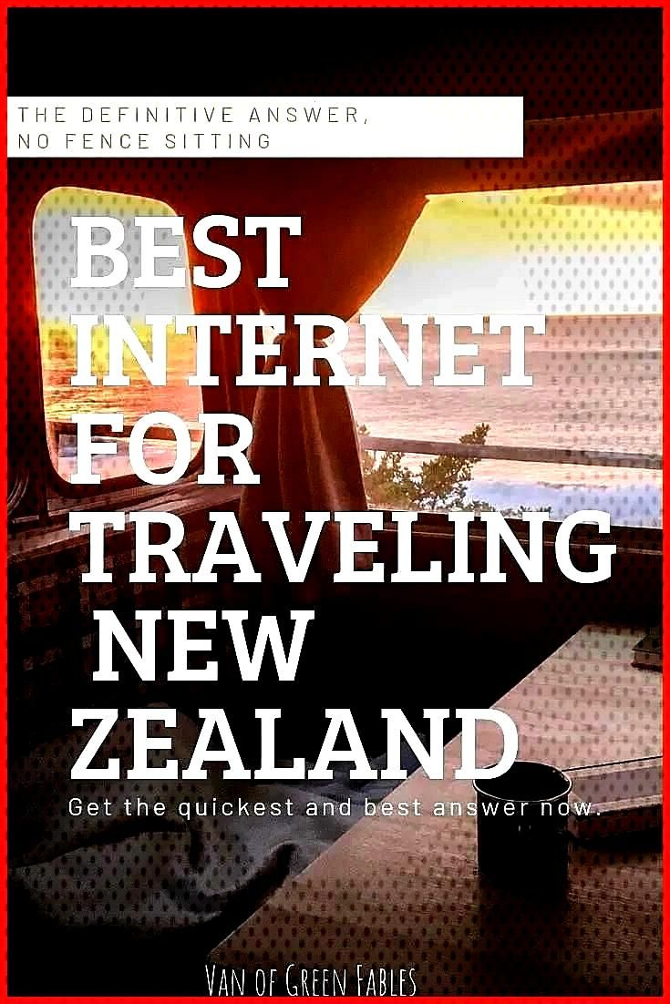 The answer to What is the best internet for traveling New Zealand The best answer for digital nomad