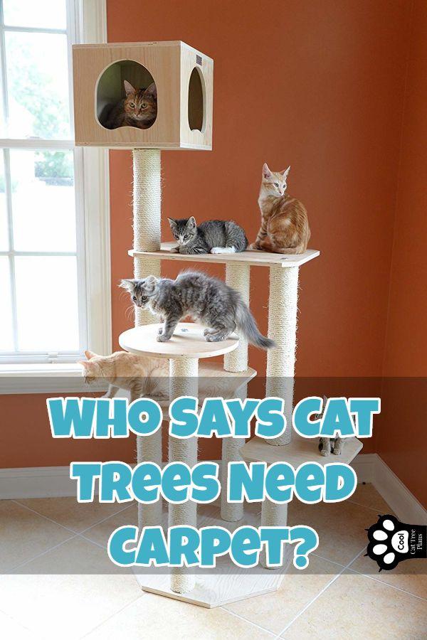 Best Cat Tree Without Carpet Ideas Cat Trees Cat Tree