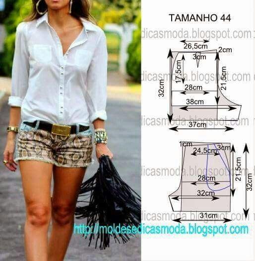 online retailer fbd9a 4751f Cartamodello pantaloncini | sewing pattern | Cucire ...
