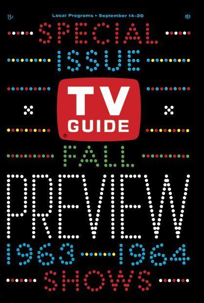 TV Guide, September 14, 1963 - Fall Preview 1963-1964 Shows | TV