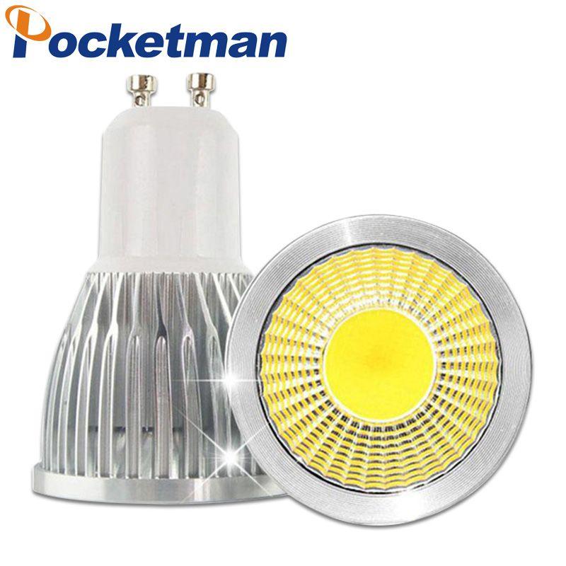 Gu10 Led Dimmable E27 E14 Mr16 Led Cob Spotlight Bulb 3w 5w 7w Lamp Lamp Bulb Spotlight Bulbs Led Light Lamp