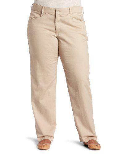 94b4d1ab8c353 Lee Jeans Women`s Relaxed Fit Plain Front Pant  29.99