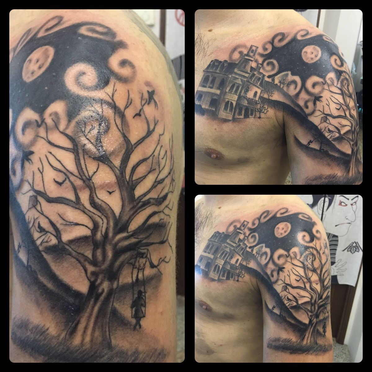 PMP Tattoo Parlour  by Albi   #darkness #tattoo #tattoos #tattooed #ink #inked #inktattoo #flower #black #tattooedgirls #dark #blackwhite #now #love #me #mix #flowersink #girl #amezing #special #instacool  #instagood #inked #love #picoftheday #tree @albi_koruti @pmp_tattoo_parlour