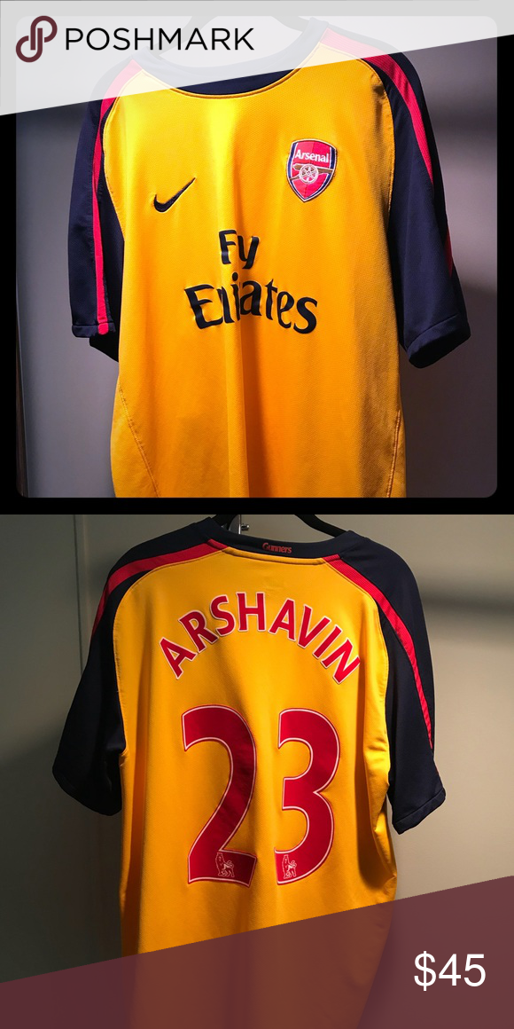 6395b75babf Nike Arsenal 2008 2009 Away Jersey