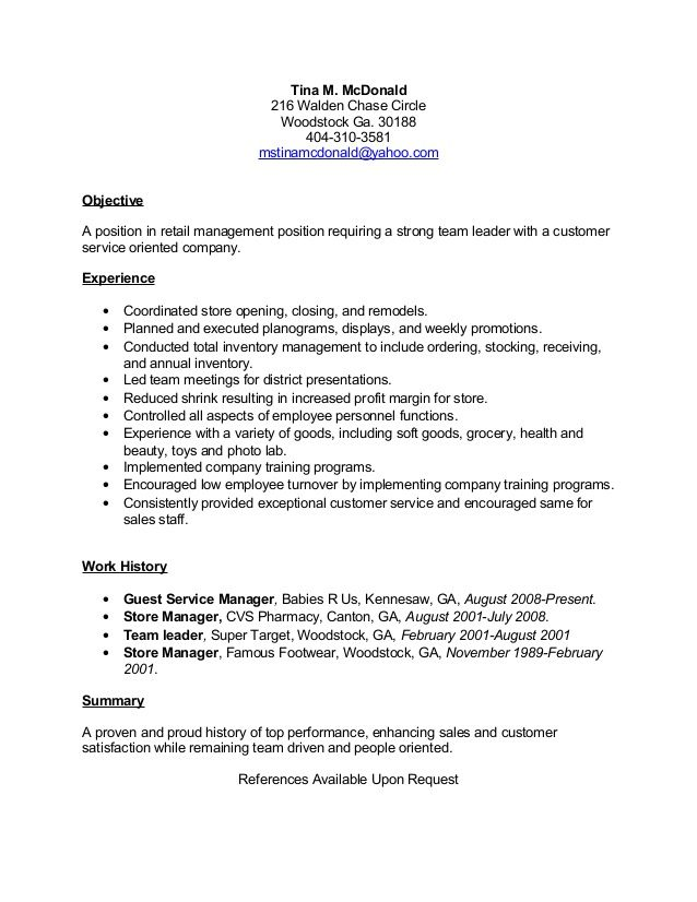 Targeted Resume Example Free Professional Resume Templates