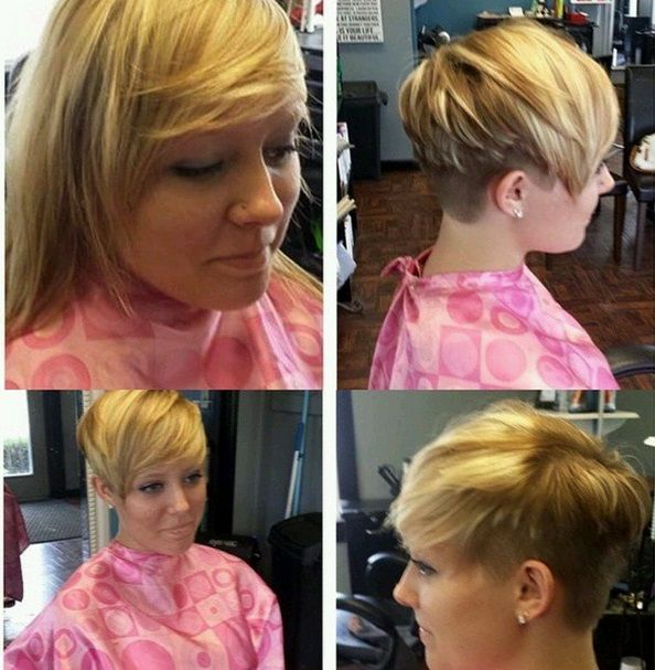 10 Zeer Verbluffende Lang Naar Kort Transformaties Kapsels Voor Haar Lange Kurze Haare Haare Vorher Nachher Kurzhaar Pixie
