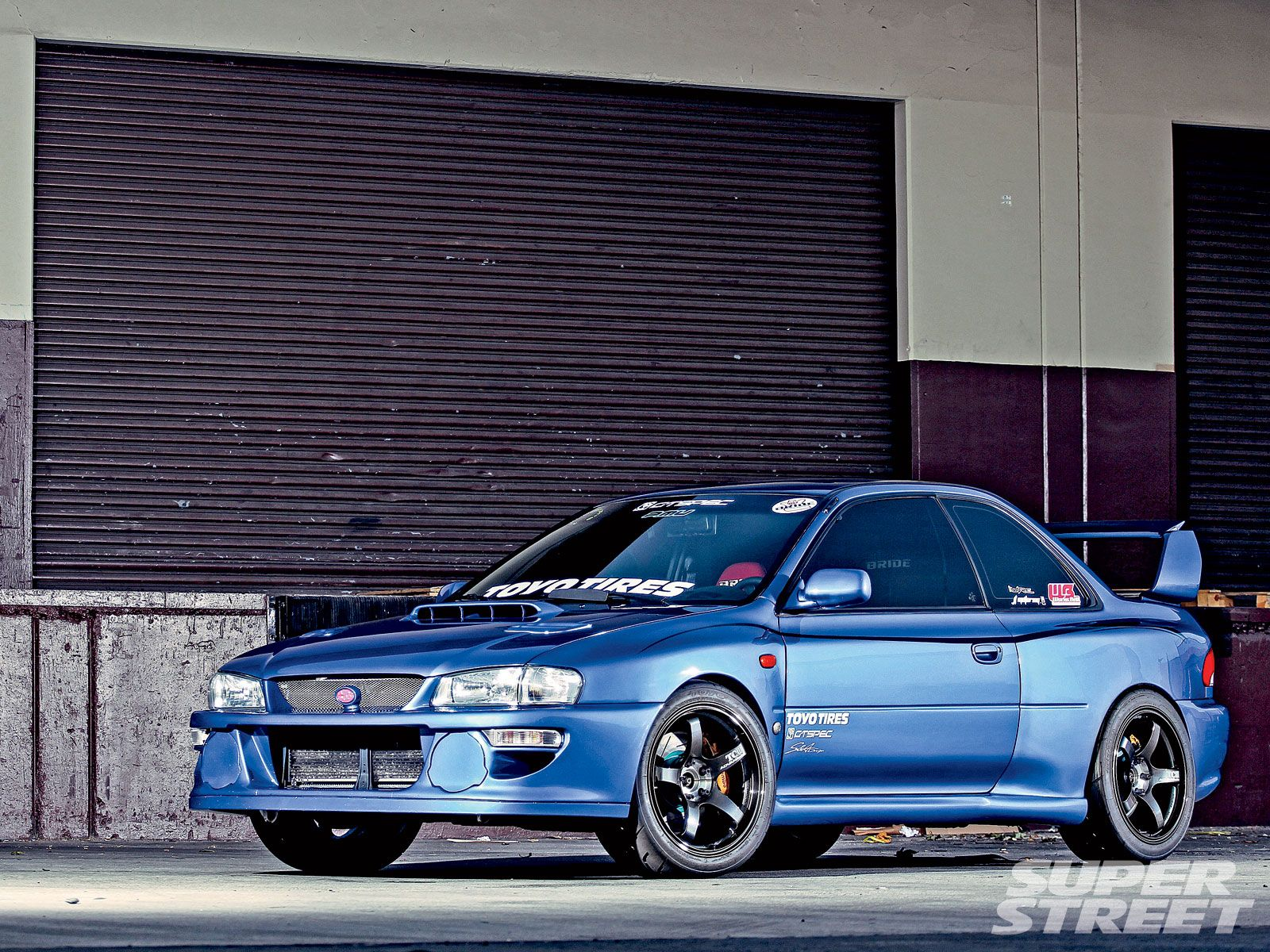 1999 subaru impreza 2.5rs - 22b styling with a l'aunsport 99 22b