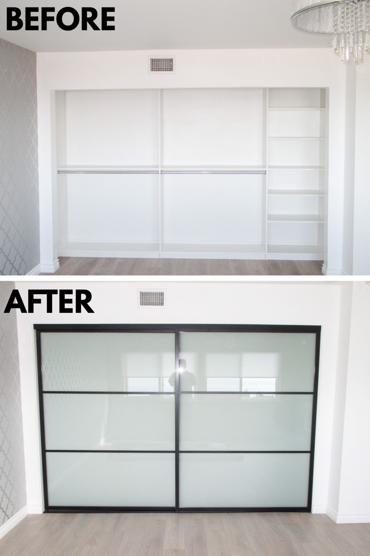 Take a look at this installation our team did of a 2-panel, 2-track ...