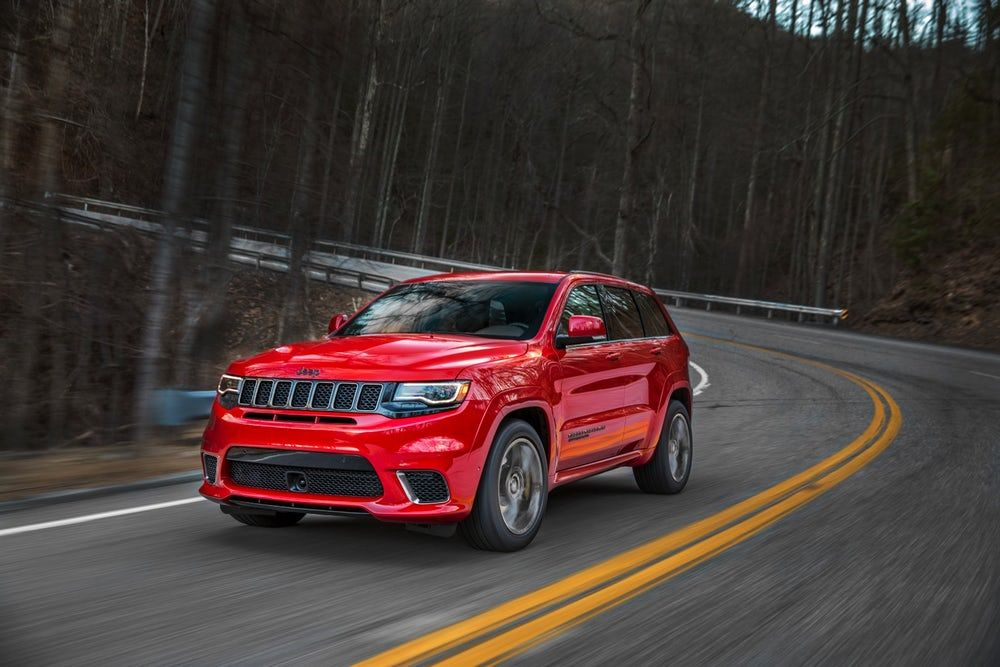 Jeep Puts A Price On The High Powered Suv Glory Of Its Trackhawk