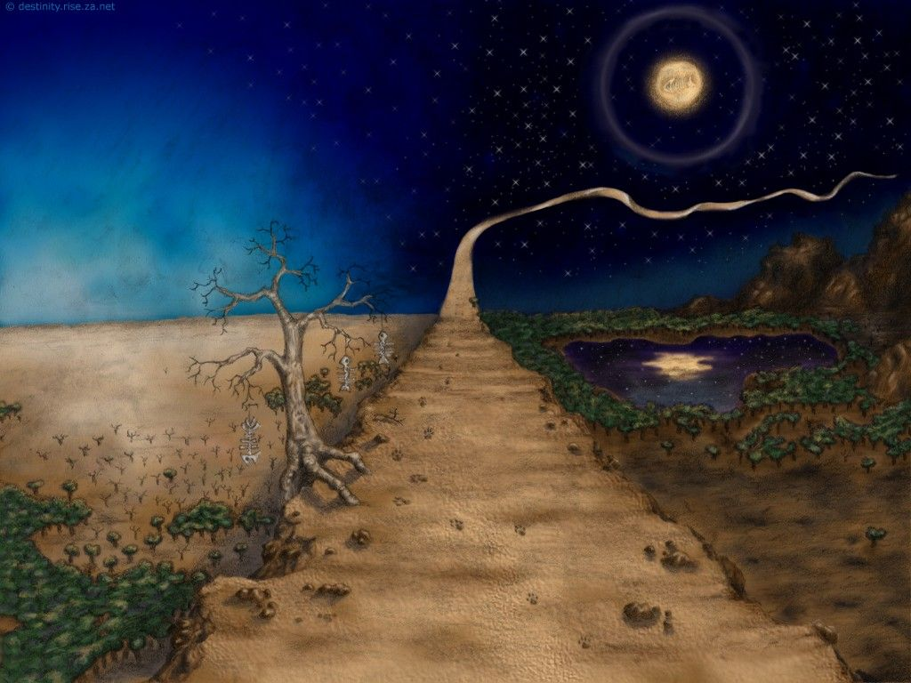 The Path Digital Art Wallpaper Backgrounds Wallpaper Backgrounds Art Art Wallpaper