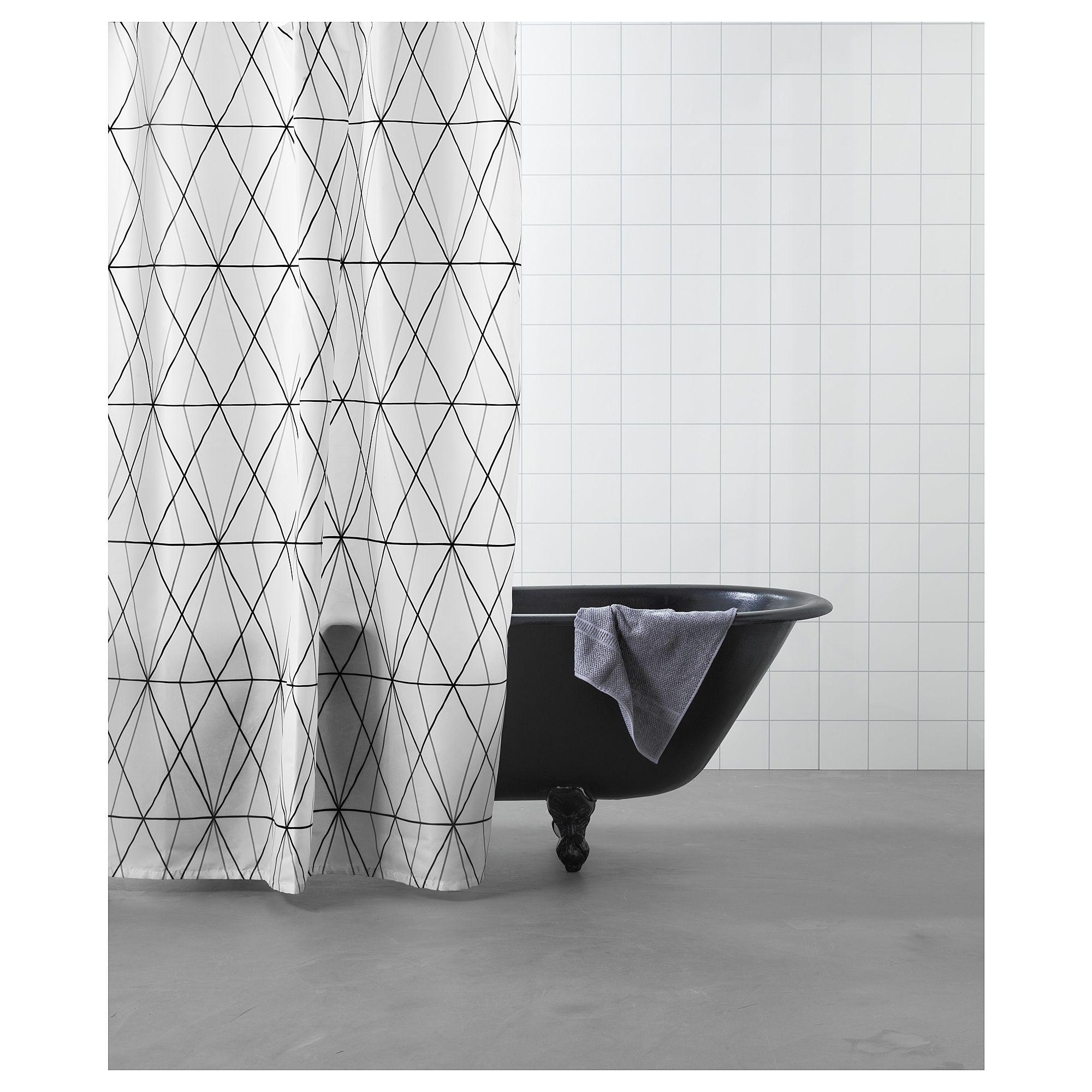 Furniture Home Furnishings Find Your Inspiration White Shower Curtain Geometric Shower Curtain Black Shower Curtains