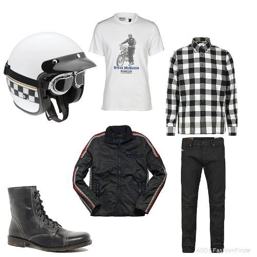 cafe racer men's outfit | ride with style | pinterest | cafes and