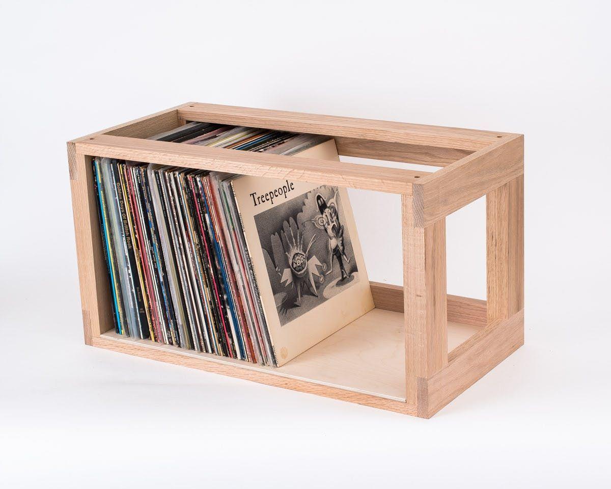 25 Smart Solutions For How To Store Your Stash Of Records Vinyl Record Storage Box Vinyl Record Storage Diy Diy Vinyl Storage