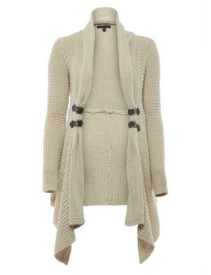 Tan Suedette Fringed Waistcoat | Womens knitwear, Knitwear and ...