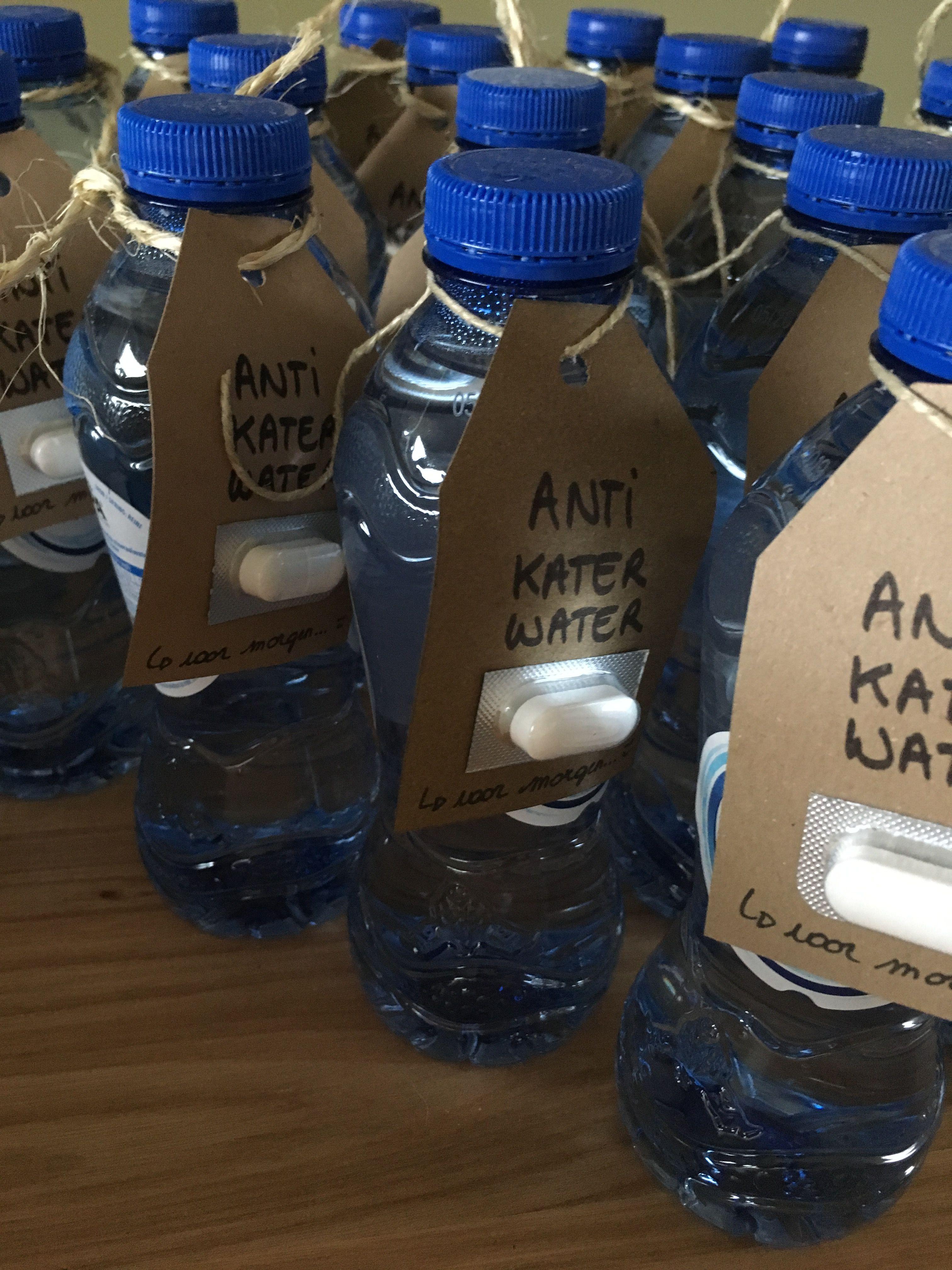 Anti Kater Water Trouwen Bruiloft Trouwen En Water