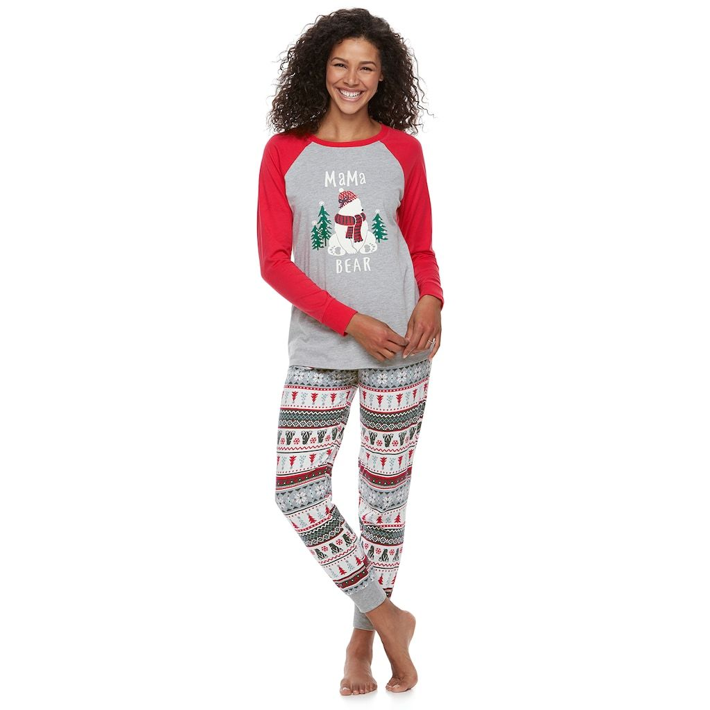 a881b2b385 Women s Jammies For Your Families Polar Bear Fairisle Family Pajamas