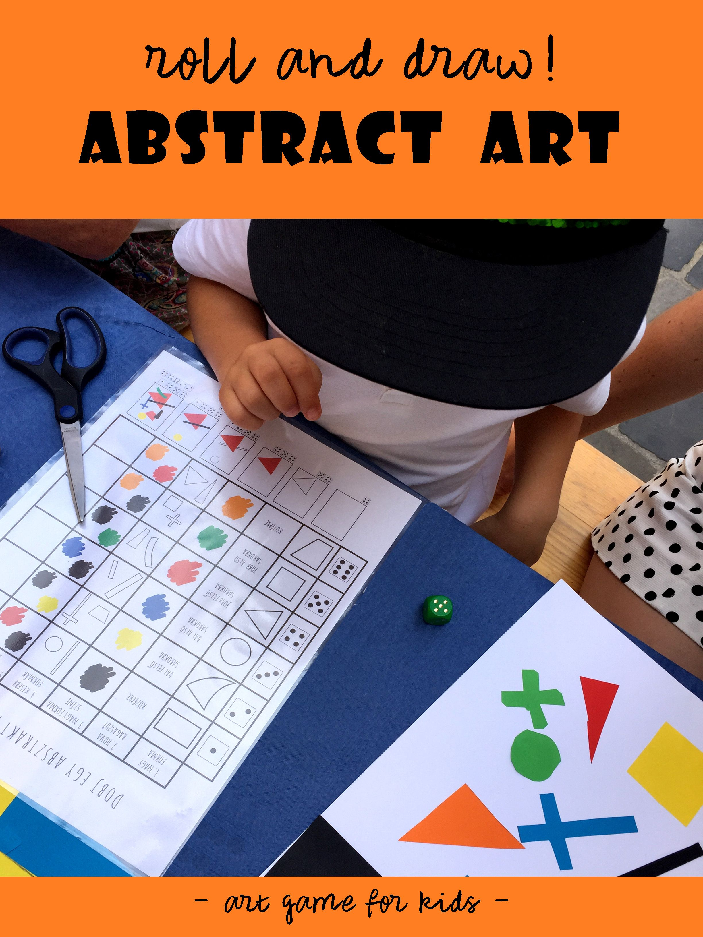 Roll A Malevich Roll And Draw Abstract Art