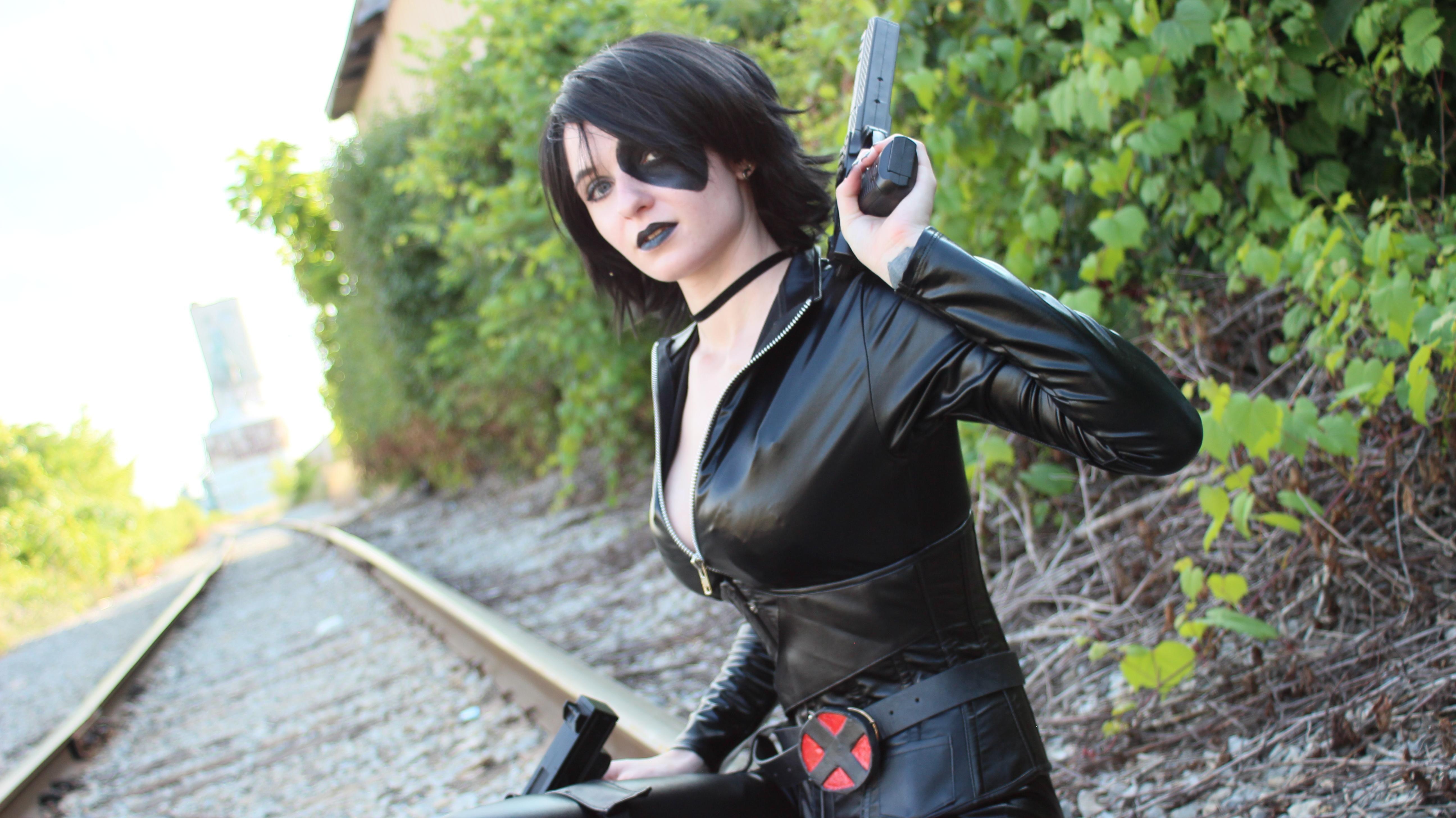 [SELF] Domino cosplay cosplay http//bit.ly/1Pirklu