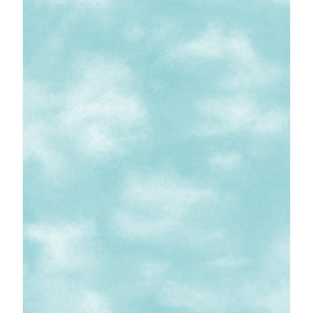 York Wallcoverings Kids Clouds Wallpaper YK0185 Cloud