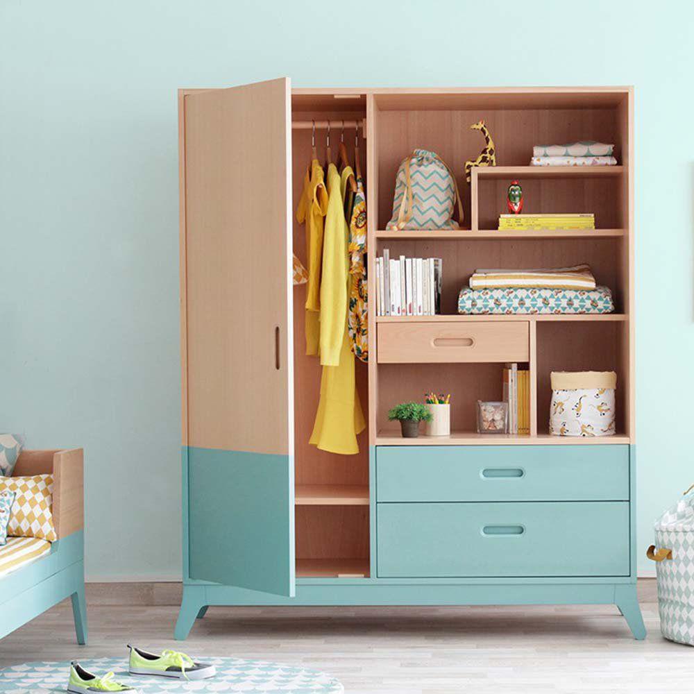10 armoires pour une chambre d\'enfant bien rangée | Armoire ...