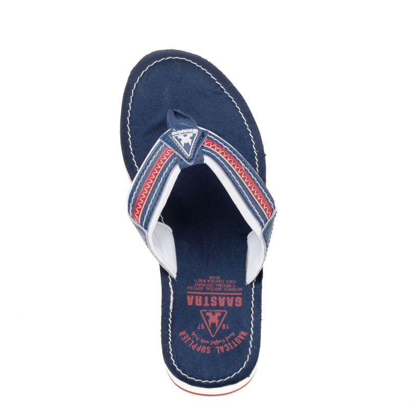 Gaastra heren slippers blauw, 171.223.10-50-6