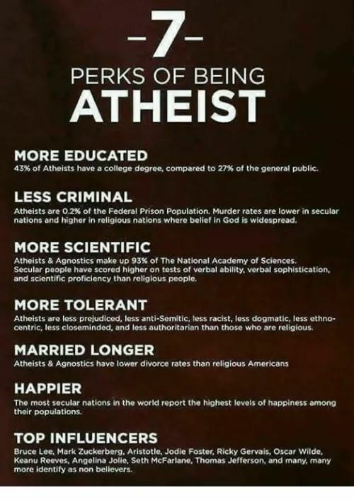 I married an atheist