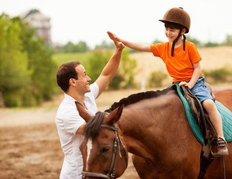 Teaching Children Boundaries with Equine-Assisted Learning