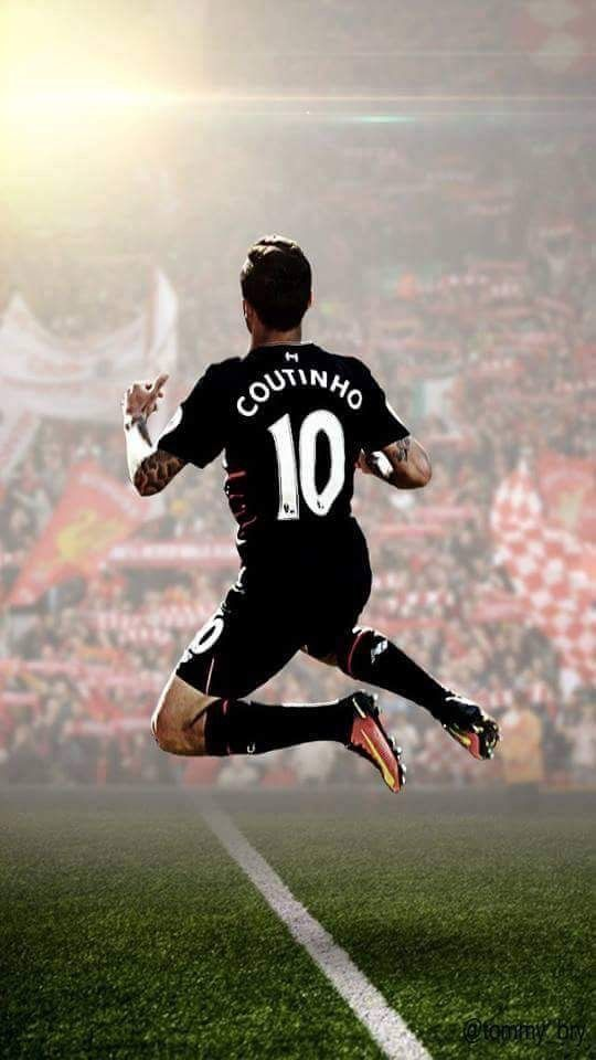 check out be360 93c9e COUTINHO Liverpool 16/17 away soccer jersey. Mane Henderson ...
