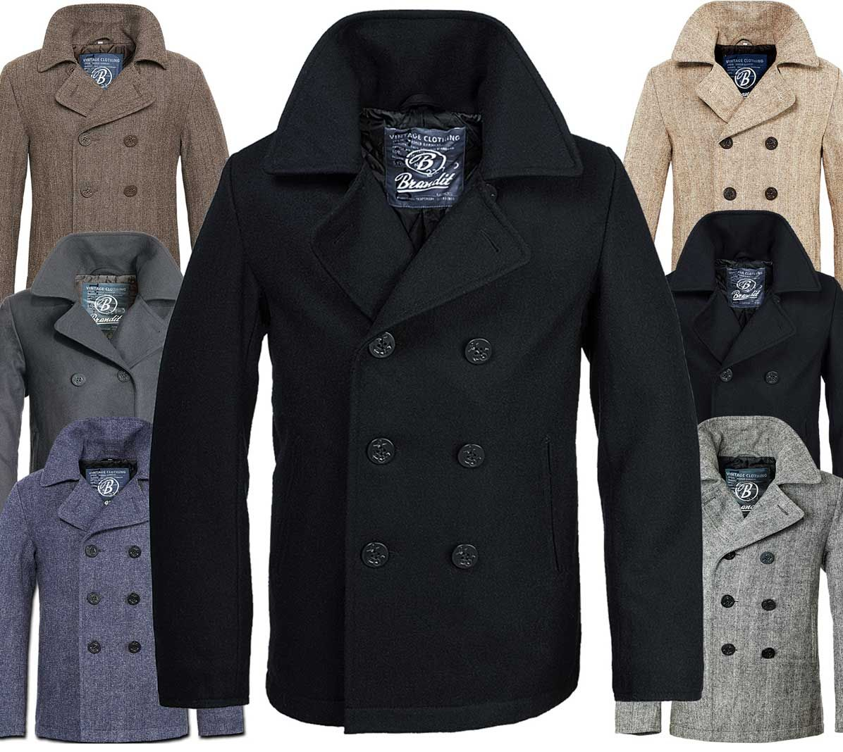 pea-coats-for-men.jpg | Pea Coat | Pinterest
