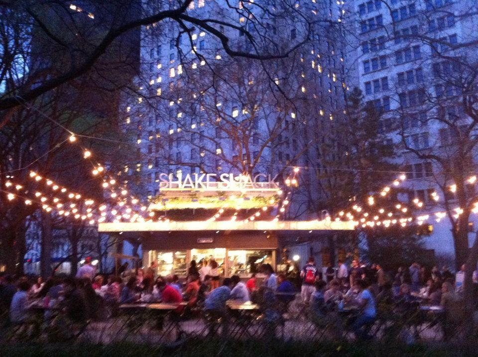 Lovely little burger joint in the middle of Madison Square