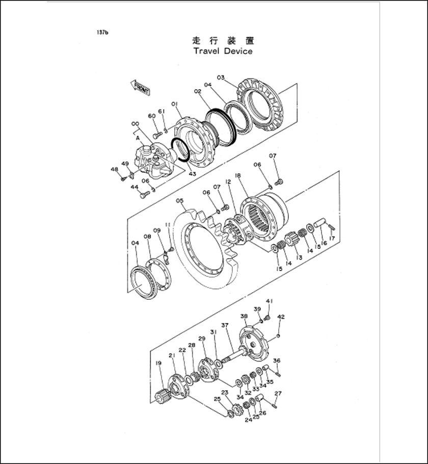 Hitachi Ex120 Parts Manual For Excavator Download Hitachi Excavator Manual