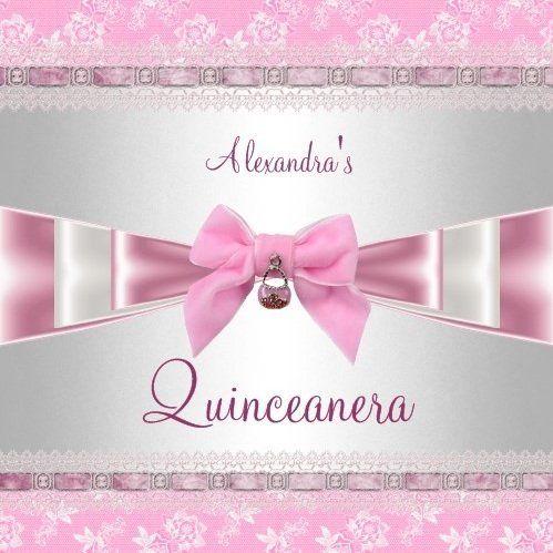 Quinceanera invitations zazzle pinterest quinceanera quinceanera invitations stopboris Image collections