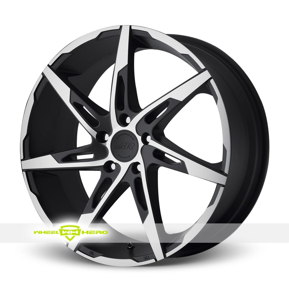 American Racing AR900 Machined Black Wheels For Sale For