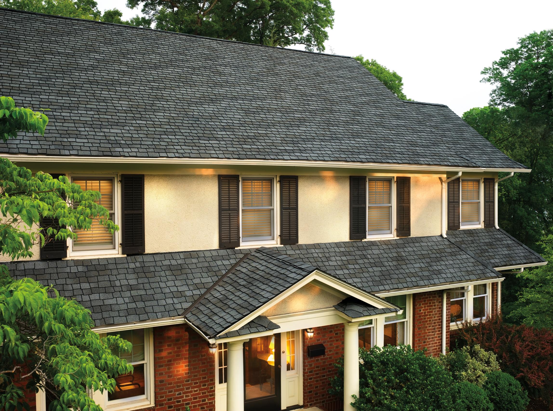 Best Gaf Glenwood Shingles Chelsea Gray Roofing Shingling 400 x 300