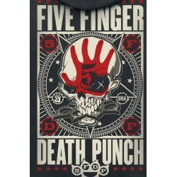 Photo of Five Finger Death Punch Punchagram Herren-Kapuzenpullover – schwarz – Offizielles Merchandise