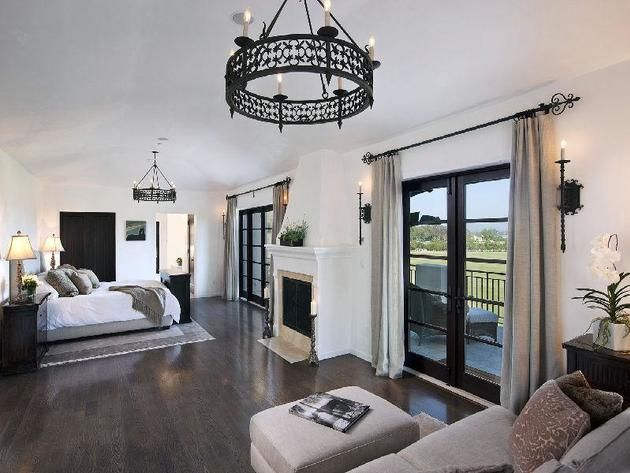 Modern Mediterranean Romantic Bedroom Modern Mediterranean