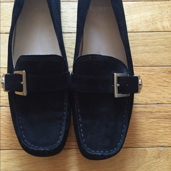 New Slip on Ugg's Super nice rare authentic Ugg loafers. Cute loafer style that have never been worn. Super soft leather & so comfortable. They are too big for me or I would love to keep them. UGG Shoes
