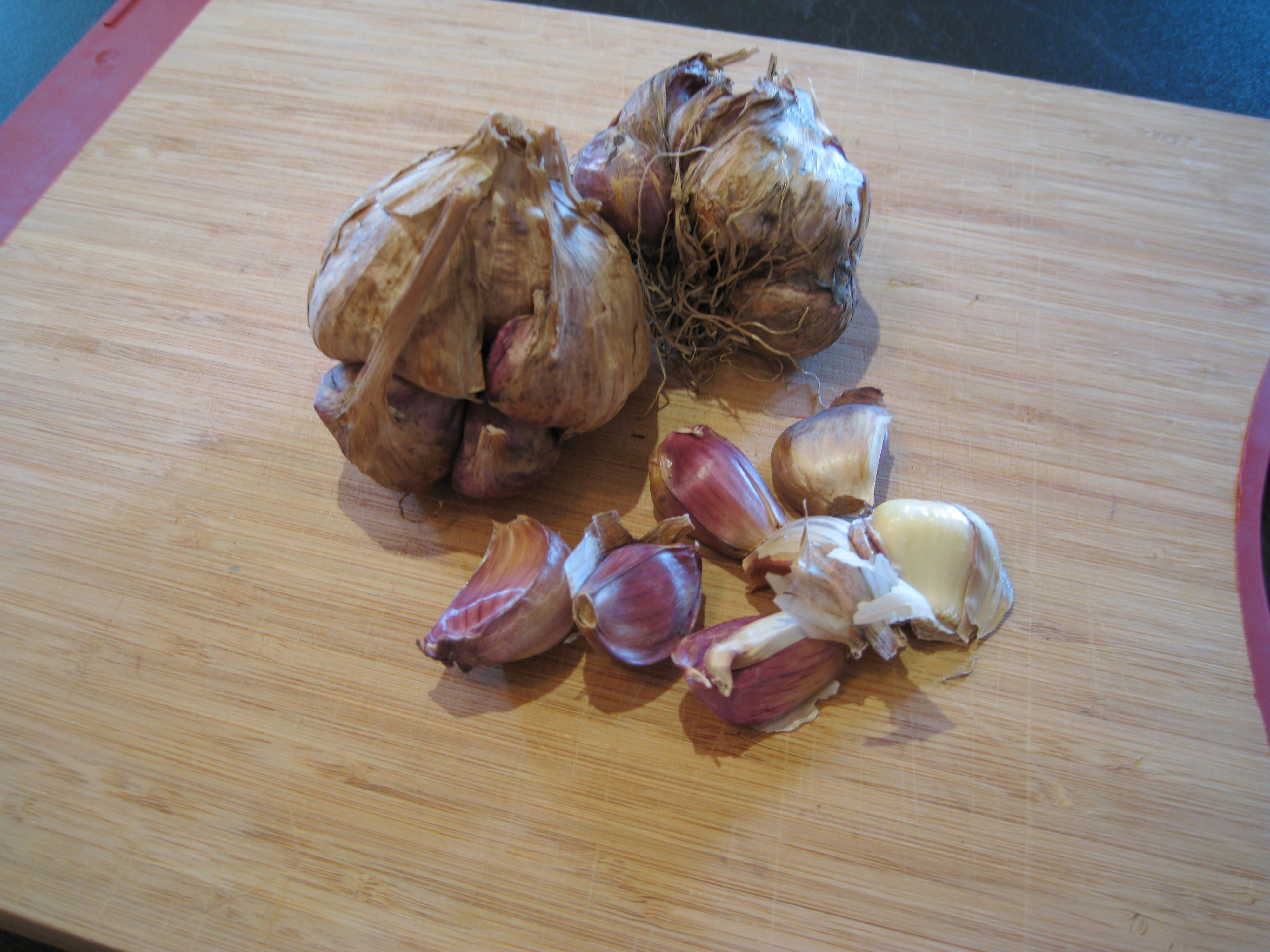 Chef Adam's How to Peel Garlic Fast.
