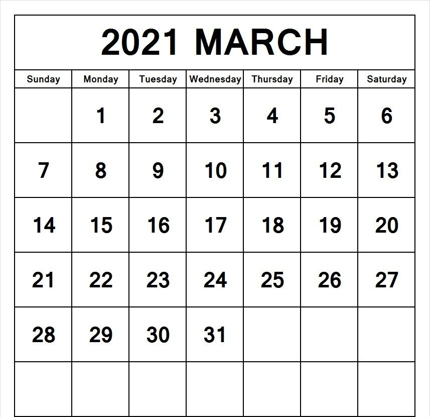 Editable March 2021 Calendar Word In 2021 2021 Calendar Calendar Word Free Printable Calendar Templates